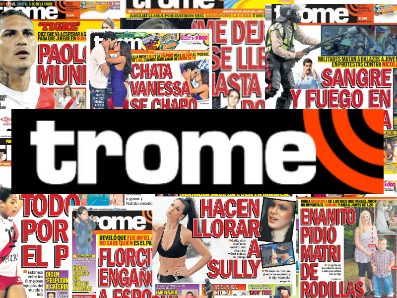 Por Qué El Trome Es El Periódico Más Vendido En Iberoamérica